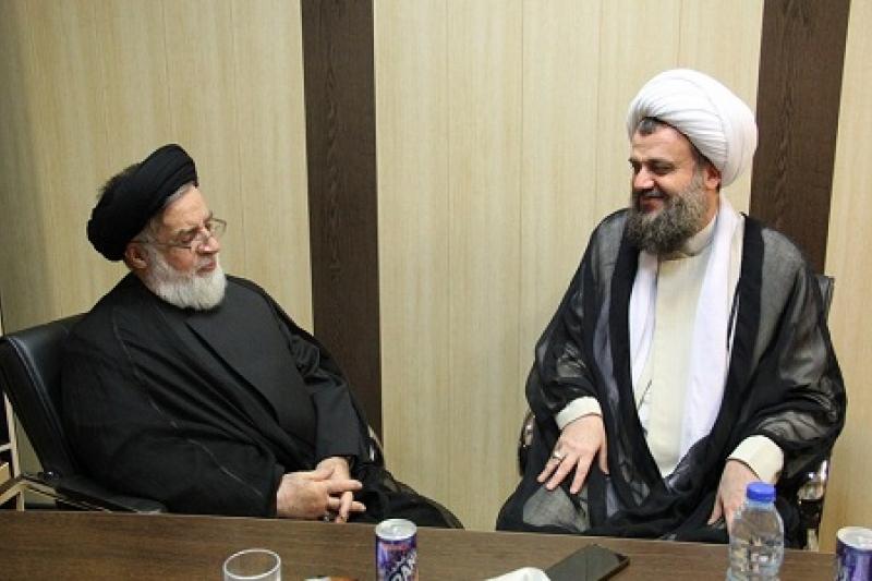 دیدار معاون محترم رئیس جمهور با آیت الله هادوی تهرانی